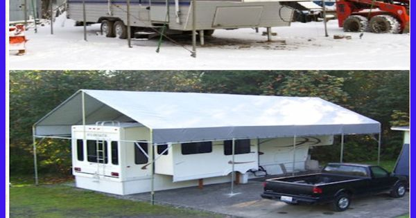 Carport On Wheels : Make your own portable carport shelter kits long lasting