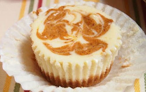 Pumpkin swirl cheesecake, Cheesecake cupcakes and Swirls on Pinterest