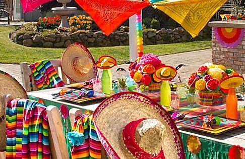 Mexican Fiesta Party Ideas ¡Arriba! Spice up your Cinco de Mayo with