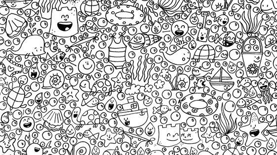 Coloriage Art Th 233 Rapie Fond Marin 176 176 Coloring Page For