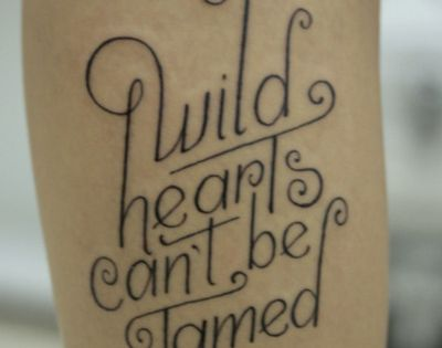 wild hearts. Love the font