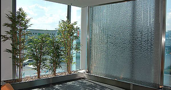 of course we need an indoor wall waterfall. I was thinking the ...