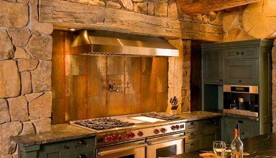 Cucina spettacolare casa casa pinterest cucina for Cucina in stile ranch