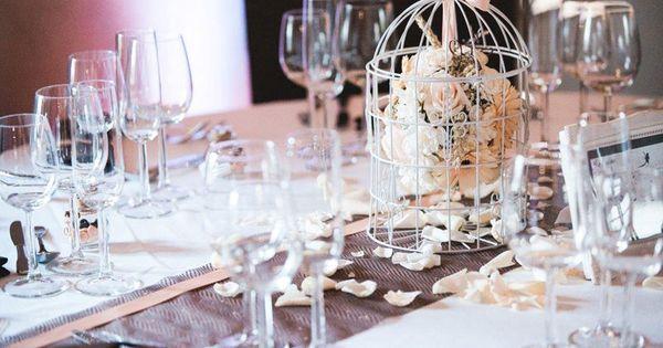 decoration mariage en chocolat et p che avec cage oiseau centre de table pinterest cage. Black Bedroom Furniture Sets. Home Design Ideas
