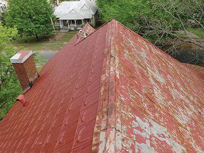 How To Repaint A Metal Roof Metal Roof Repainting Roof
