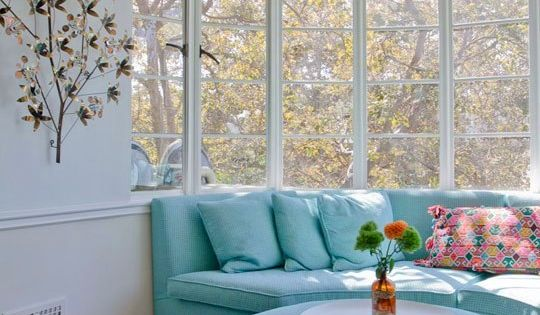 Exquisite Design of Bay Window and Window Seat To Create Comfortable Living
