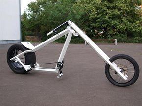 Vigilante Style Bike Chopper From Germany Custom Bicycle