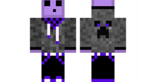 minecraft skin Purple-Slime-Edit   Minecraft   Pinterest ...