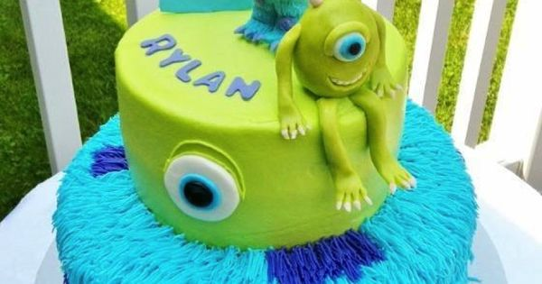 Super cute MonstersInc. cake. Love!