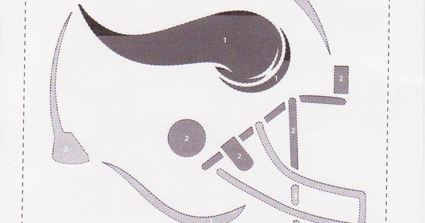 Minnesota vikings pumpkin stencil p a r t y pinterest