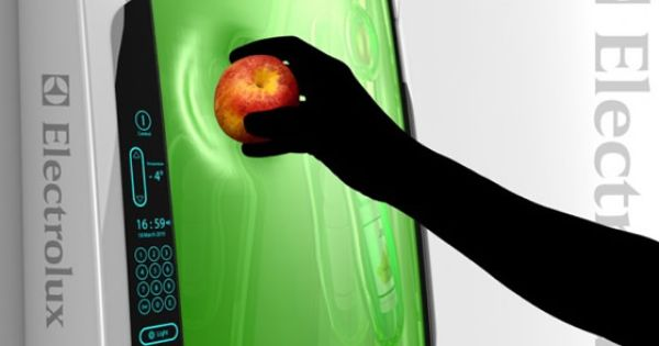 this bio robot gel refrigerator is a concept design that