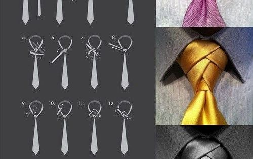 How to Tie a Necktie - Eldrege Knot   Animated How to Video