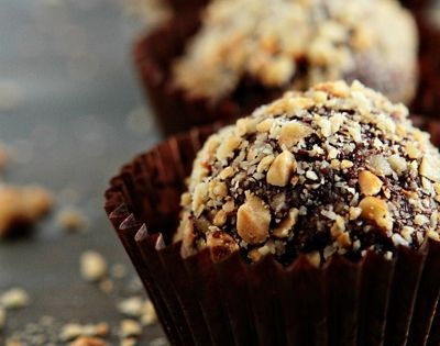 Nutella, Truffles and Desserts on Pinterest