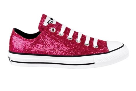 ad693687af57 Converse All Star Lo Glitter Athletic Shoe - Pink Glitter ... - photo#