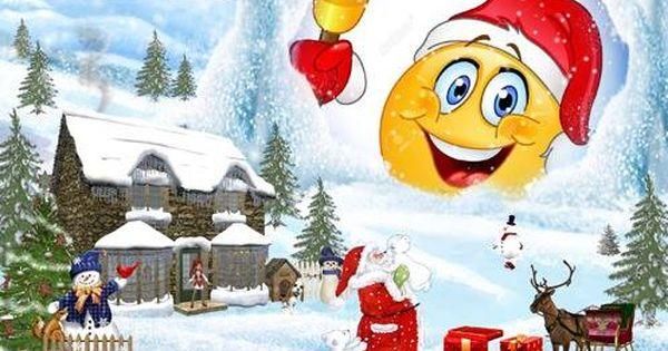 Pin By Valerie Jones On Smilies Emoji Santa Claus Christmas Tree Christmas Photomontage