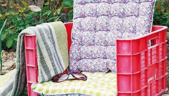 Decoraci n de terrazas y jardines con objetos reciclados for Decoracion jardin reciclado