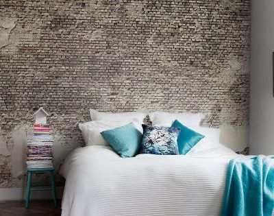 Behangpapier steen google search kamer mannes pinterest google slaapkamer en decoratie - Taupe kamer linnen ...