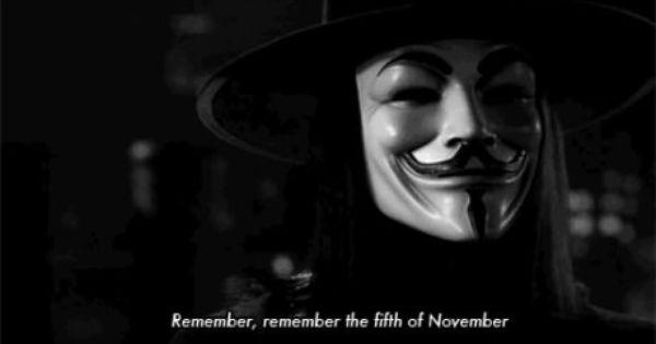 Remember Remember The 5th Of November V For Vendetta Movie V For Vendetta Vendetta