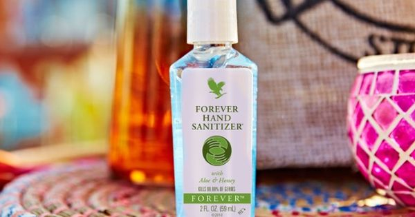 Hand Sanitizer Aloe Vera Forever Living Products Hand Sanitizer