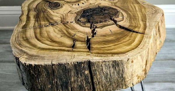 41 id es originales pour la d coration souche arbre epingle pieds et id es originales - Souche d arbre decorative ...
