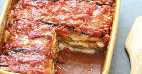recette parmigiana coupez la mozzarella en tranches de 1 2 cm d paisseur puis gouttez la sur. Black Bedroom Furniture Sets. Home Design Ideas