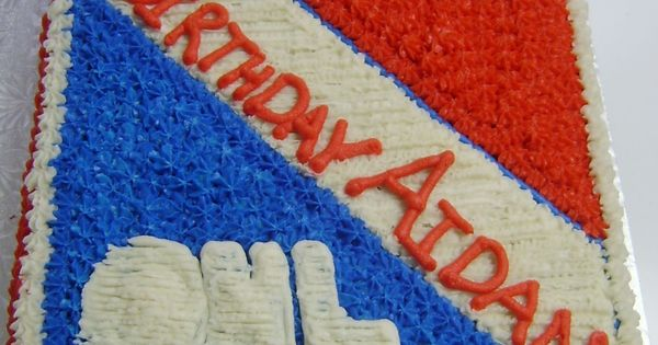 Kitchener Rangers Birthday Cake - I made this cake for the ...