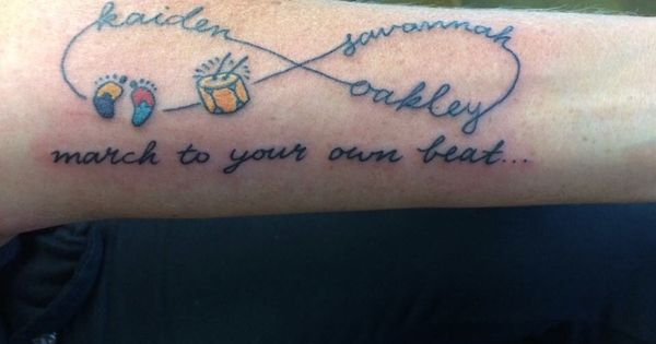 Love Infinity symbol | Autism/Asperger's Awareness Tattoos ...