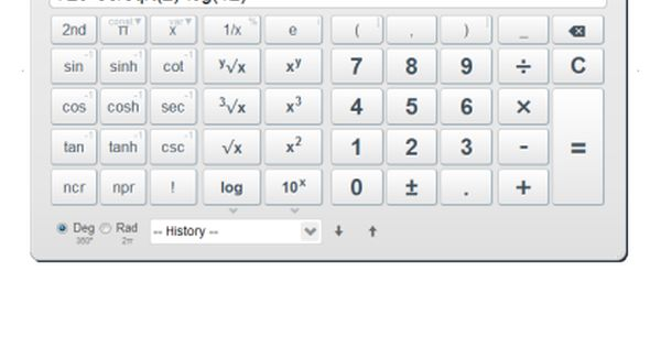 Nice Free Scientific Calculator On Line Scientific Calculators Online Math Help Online Calculator