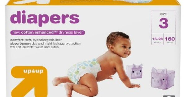 Diapers Giant Pack Size 3 168ct Up Up Diaper Buy Diapers
