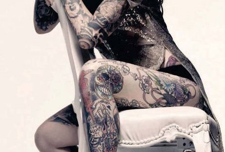 Kat Von D tattoo ink beauty