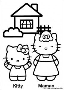 Hello Kitty Coloring Pages Hello Kitty Para Colorear Dibujos De Hello Kitty Dibujos Faciles Para Dibujar