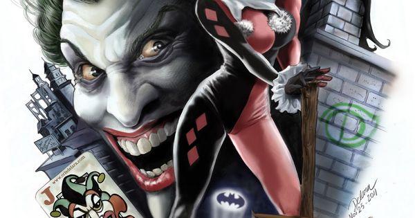 Harley Quinn & Joker By Cris De Lara
