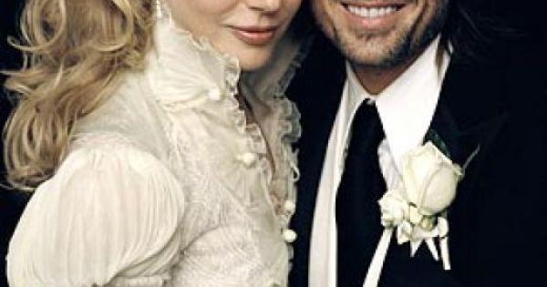 Nicole Kidman Balenciaga Wedding Dresses: Condé Nast Bride's Magazine Named Nicole Kidman's Wedding