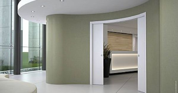 Curved pocket door senior studio project pinterest pocket doors doors and pockets - Eclisse schuifdeur ...