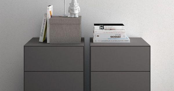 Comodini e cassettiere moderne per camera da letto - Cassettiere moderne design ...