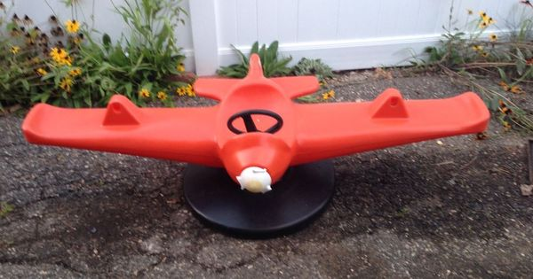 Details about Little Tikes Airplane Teeter Totter Vintage | Childhood