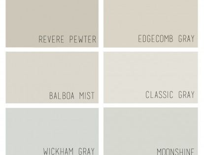 The Best Benjamin Moore Greige Paint Colors And How They Compare To Each Other Home Renos