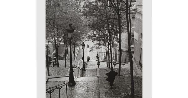 Affiche Sous Film Escaliers Montmartre Les Affiches