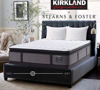 Kirkland Signature By Stearns And Foster Hope Bay King Mattress With Foundation King Mattress Stearns And Foster Mattress Cal King Mattress