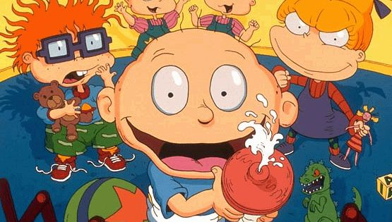 Rugrats is an American cartoon with a group of toddlers who have