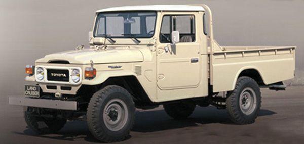 Toyota Land Cruiser Model 40 Series 1960 1984 Camiones Toyota