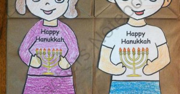 Happy Hanukkah Puppets From Melissas Corner On