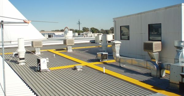 Roof Safety Systems Fall Arrest System Construction Process Roof