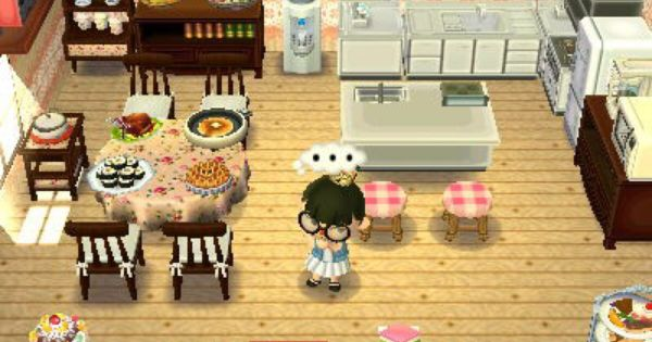 I M Officially Going To Make This Kitchen Animal Crossing Animal Crossing 3ds Animal Crossing Game
