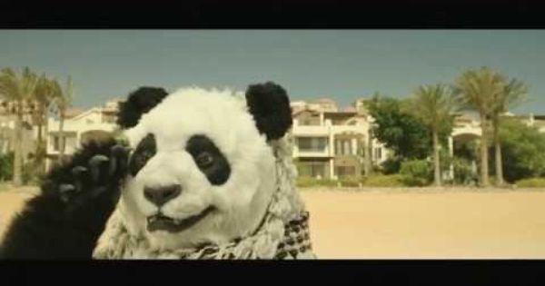 بالفيديو تعا أشرب شاي المشهد المحذوف من فيلم صنع في مصر Panda Bear Animals Bear