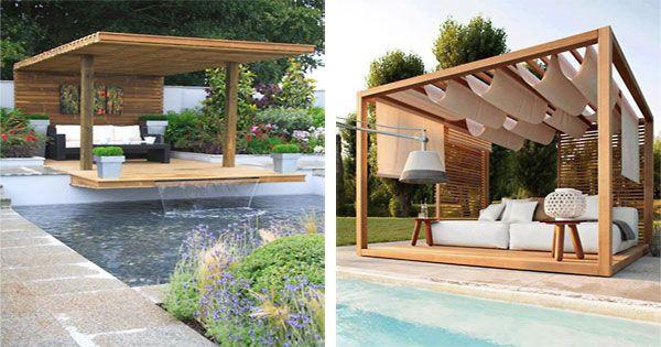 Cool Swimming Pool Cabanas Pool Cabana Cool Swimming Pools