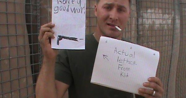 Sample Letters To Servicemen Overseas