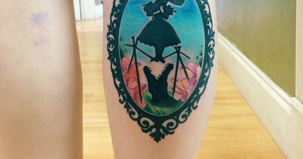 Disney the haunted mansion tattoo by chris blinston at no for Coral springs tattoo