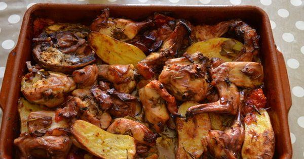 Lapin r ti au four qui cuit tout seul recette lapin - Cuisiner le lapin au four ...