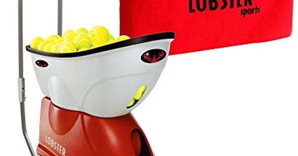 Lobster Elite Grand Four Tennis Ball Machine Bundled With Elite Storage Cover Tennis Ball Machines Tennis Racquet Racquet Sports